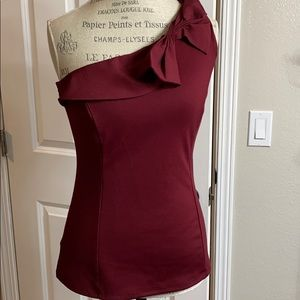 Flattering one shoulder blouse by the Limited